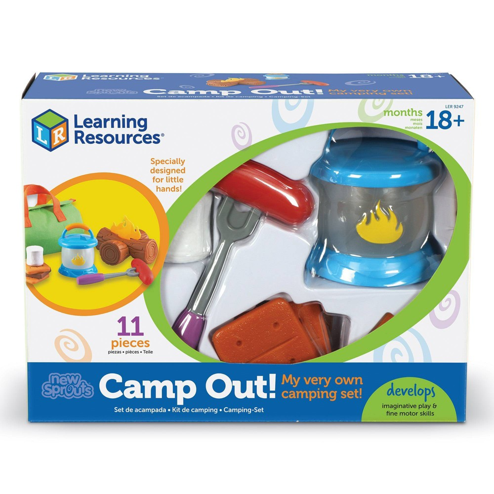 Learning Resources New Sprouts Camp Out! from Learning Resources