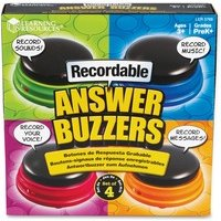 Learning Resources Recordable Answer Buzzers from Learning Resources