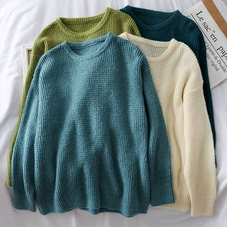 Loose-Fit Knit Sweater from Lemongrass