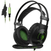 SADES SA-801 35mm Gaming Headsets with Microphone Over Ear Music Headphones Volume Control Black-green for PS4 New Xbox One Lapto from Lenovo