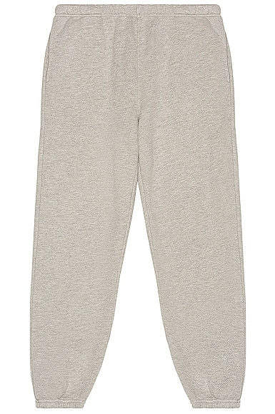 Les Tien Classic Sweatpant in Gray from Les Tien