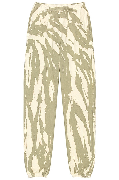 Les Tien Classic Sweatpant in Green from Les Tien