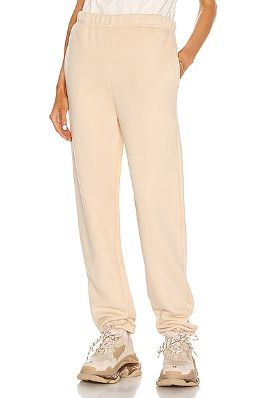 Les Tien Classic Sweatpant in Neutral from Les Tien