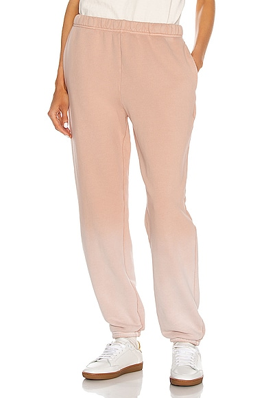 Les Tien Classic Sweatpant in Pink from Les Tien