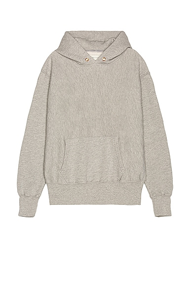 Les Tien Cropped Hoodie in Gray from Les Tien