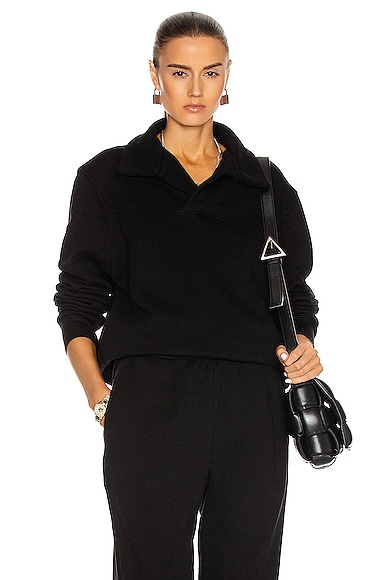 Les Tien Yacht Pullover in Black from Les Tien