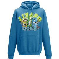Lizard Cops Hoodie - Blue - S from Lightsen