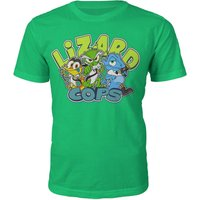 Lizard Cops T-Shirt - M - Green from Lightsen