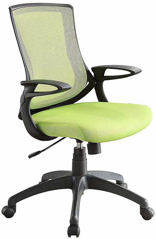 Linon 178326LIME01 Carlyle Lime Office Chair from Linon