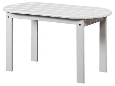 Linon 20154WHT-01-KD-U Adirondack White Coffee Table from Linon