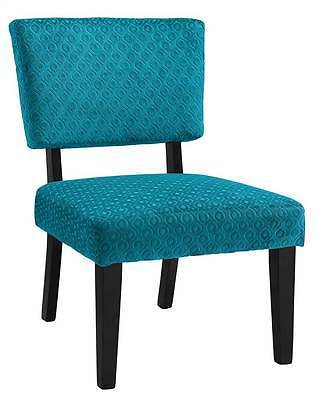 Linon 36080TEAL01U Taylor Teal Blue Accent Chair from Linon