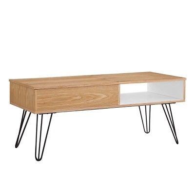 Linon 650246ASH01U Perry Coffee Table from Linon
