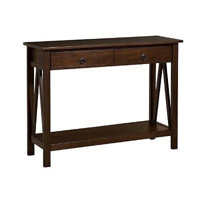 Linon 86152ATOB-01-KD-U Titian Console Table Antique from Linon