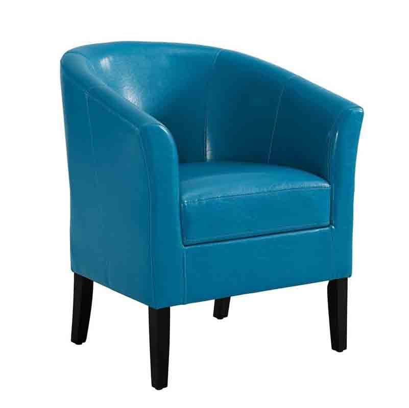 Linon CH057DBLU01U Sadie Dark Blue Club Chair from Linon