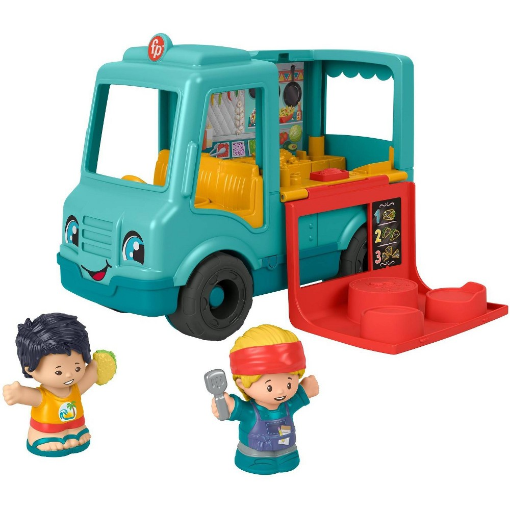 Fisher-Price Little People Serve it up Food Truck from Little People