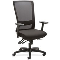 Lorell Asynch Control High-back Mesh Chair from Lorell