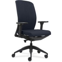 Lorell Executive Chairs with Fabric Seat & Back from Lorell