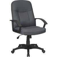 Lorell Executive Fabric Mid-Back Chair from Lorell