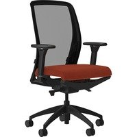 Lorell Executive Mesh Back/Fabric Seat Task Chair from Lorell