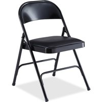 Lorell Padded Seat Folding Chair from Lorell