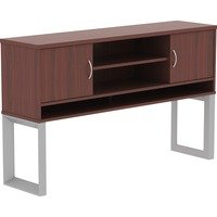 Lorell Relevance Series Mahogany Laminate Office Furniture from Lorell