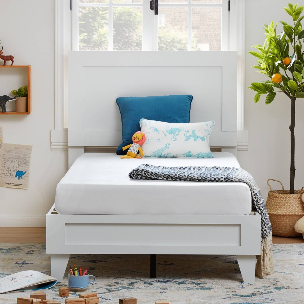 "Comfort Collection 6"" Waterproof Gel Memory Foam Mattress White - Lucid - Full from Lucid"