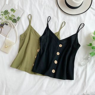 Plain Camisole Top from Lucuna