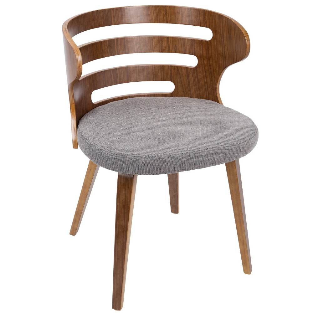 Cosi Mid Century Modern Chair Gray - LumiSource from LumiSource
