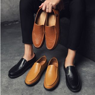 Faux Leather Loafers from MARTUCCI