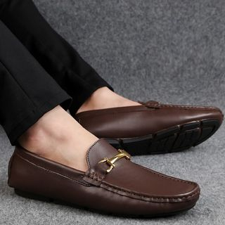 Genuine Leather Loafers from MARTUCCI