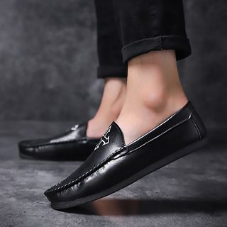 Genuine Leather Print Loafers from MARTUCCI