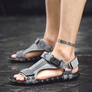 Lettering Sandals from MARTUCCI