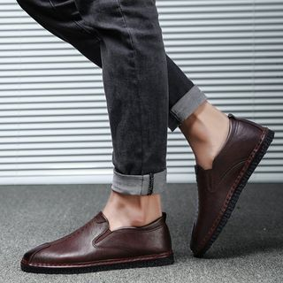 Stitched Loafers from MARTUCCI