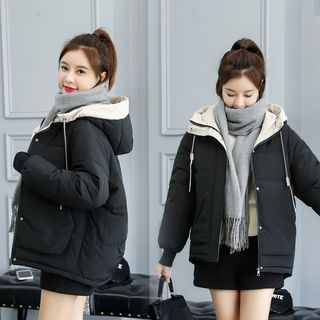 Hooded Padded Coat from MAVIS