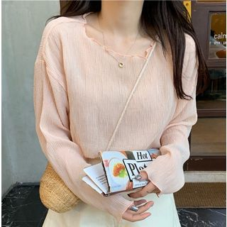Plain Long-Sleeve T-Shirt from MAVIS