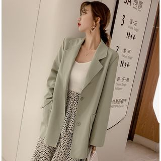 Plain Pocketed Long-Sleeve Blazer W - L from MAVIS