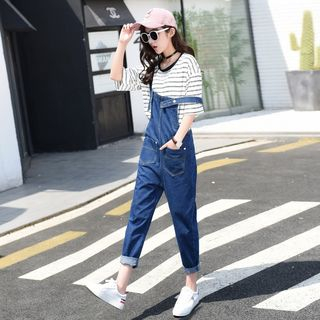 Straight Cut Dungaree from MAVIS