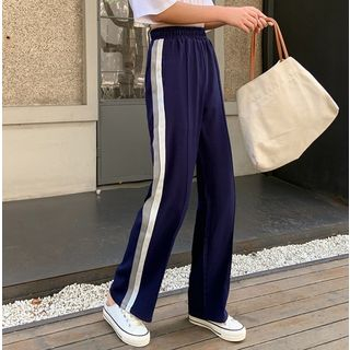 Striped Wide-Leg Pants from MAVIS