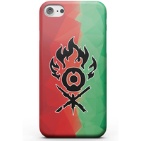 Magic The Gathering Gruul Fractal Phone Case for iPhone and Android - iPhone 5/5s - Tough Case - Gloss from Magic The Gathering