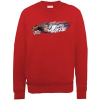 Marvel Avengers Assemble Thor Bring The Thunder Sweatshirt - Red - M - Red from Marvel