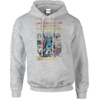 Marvel Doctor Strange Premiere Comic Cover Men's Grey Pullover Hoodie - M - Grey from Marvel