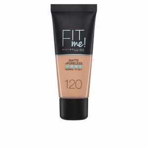 FIT ME MATTE+PORELESS foundation #120-classic ivory from Maybelline