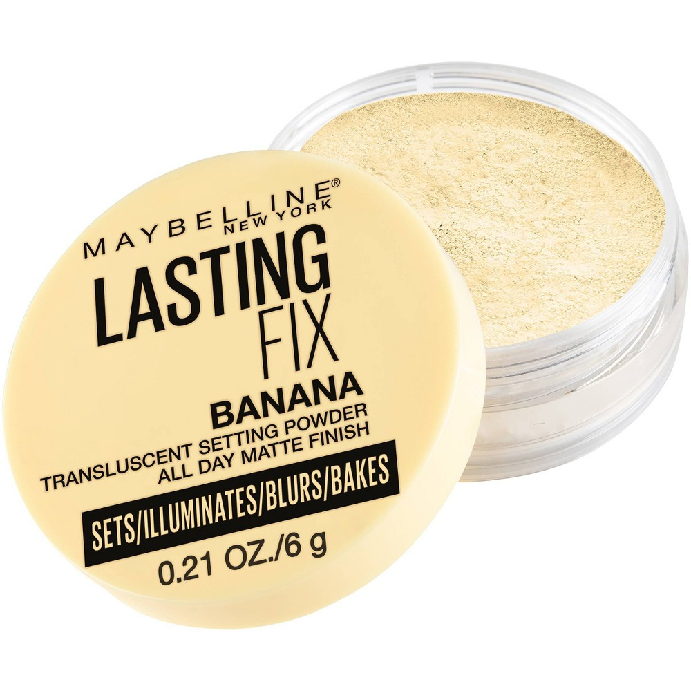 Maybelline Lasting Fix Translucent Loose Setting Powder - Banana - 0.21oz from Maybelline