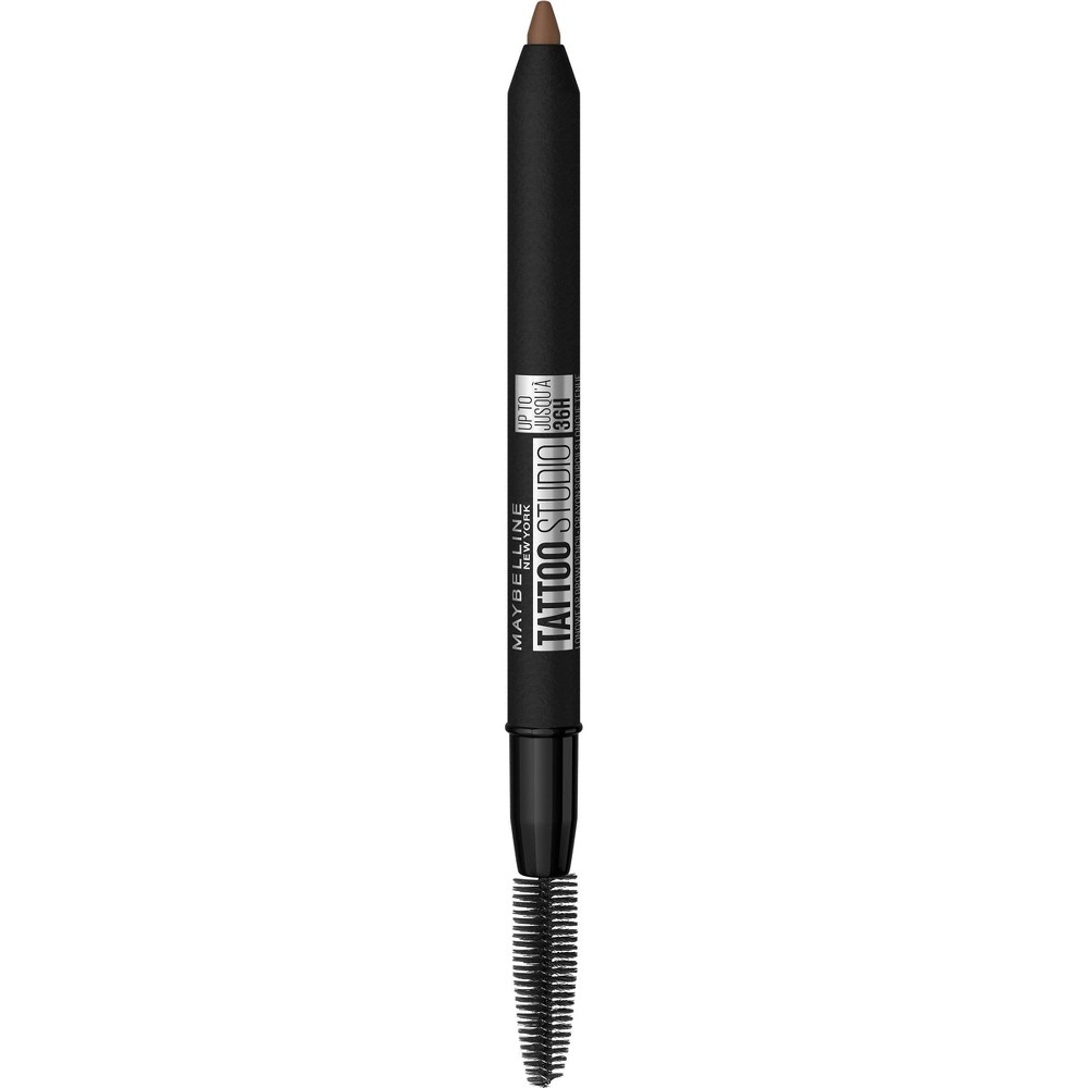 Maybelline Tattoo Studio 36H Pigment Brow Pencil - 255 Soft Brown - 0.026oz from Maybelline