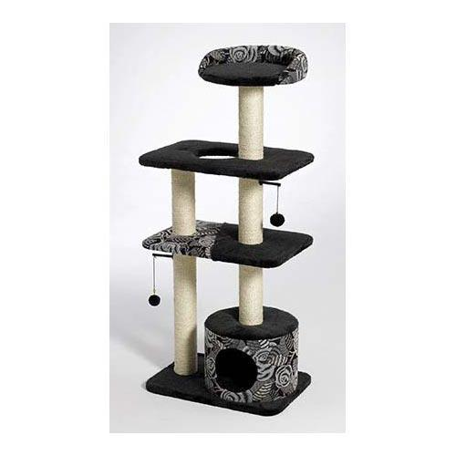 Midwest 138T-BK Catitude Tower Cat Furniture from Midwest