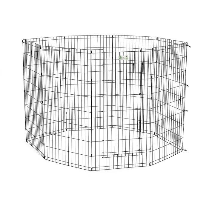 Midwest 536DR Life Stages Pet Exercise Pen with Door 8 Panels from Midwest