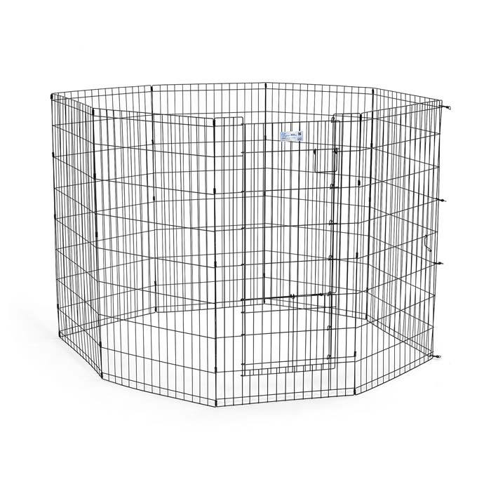Midwest 536SDR Life Stages Pet Exercise Pen with Split Door from Midwest