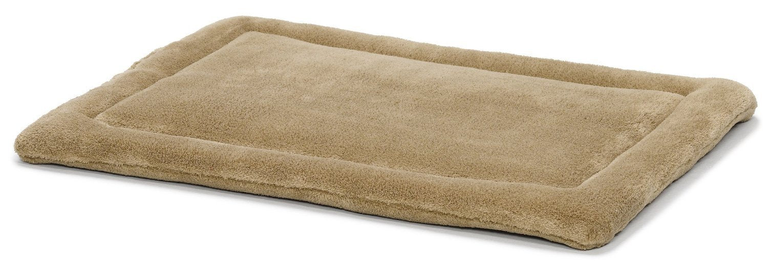 "Quiet Time Deluxe Micro Terry Bed Taupe 40"" x 27"" from Midwest"