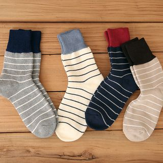 Striped Socks from Minuola