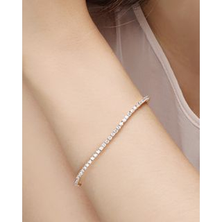 Full-Rhinestone Bracelet from Miss21 Korea